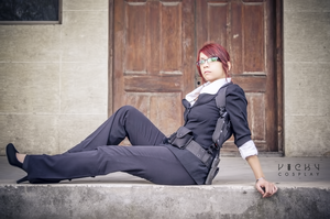 Claire Redfield cosplay Mercenaries 3D suit by Vicky-Redfield