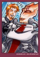 PSC - Mordin and Shepard by aimo