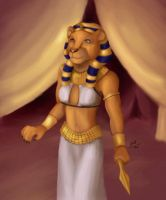 Sekhmet by sesshy