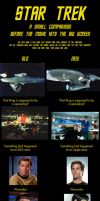 Star Trek - a comparison by davemetlesits