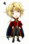 .:The Elf King chibi:. by Tabe-chan