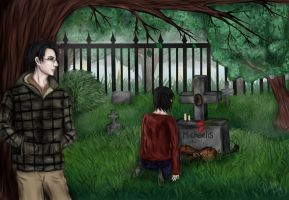 Cemetery by DiabolicLily