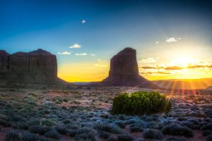 Monument Valley by alierturk