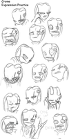 Crome Expression Practice by RoboticMasterMind