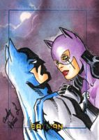 Catwoman's tears by andypriceart