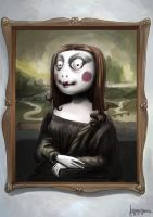 Mona Lisa by alexandros-ch