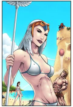 Masters of the Universe - The Beach by Killersha