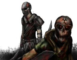 Zombiegoboom: Chuck and Charles by tannen97