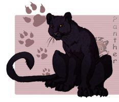 Just Panther by IzaPug