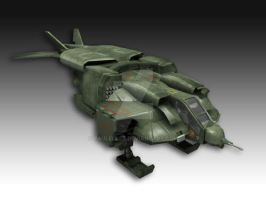 Dropship textured by paulelder