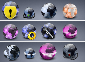 31 More Globe icons by zman3
