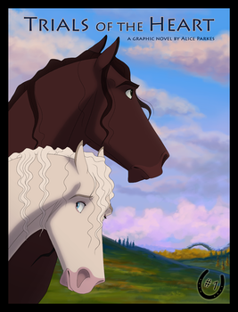 Trials of the Heart: Issue 1 Cover by Wild-Hearts
