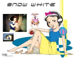 Snow White Pin-up by Anime-Ray