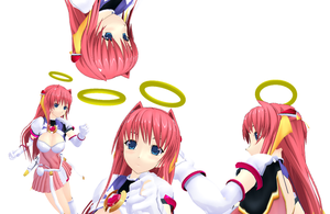 MMD - Basic Angel Halo by 3D-Centainedj