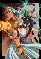 One-Punch Man by Mephmmb