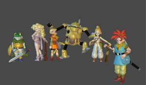 Chrono Trigger weapons and accessories by Lopieloo