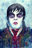Watercolour: Barnabas Collins by XxVampireNightxX