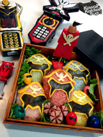 Power Rangers Super Megaforce Bento (Gokaiger) by kawaiikakkoiisugoi