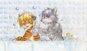 Bathing Company by RuntyTiger