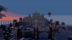 Day/Night Castle by CW390