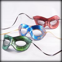 Three Party Masks by pilgrimagedesign