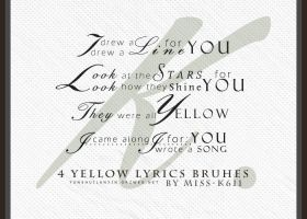 Yellow Lyrics by MISS-K611