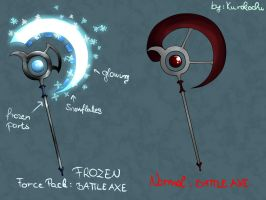 S4 League - New weapon made by me by JennyTury