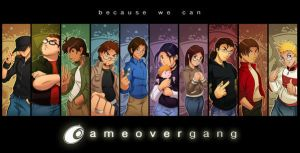 ::GameOverGang Poster:: by Turboman