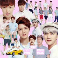 EXO's PNG Pack {IVY Club 2014} by kamjong-kai