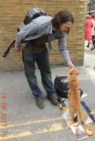A Street Cat Named Bob by CanveySue