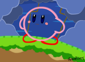 Kirby being Epic ... and Yarn by RobbanFoxer