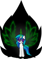 The neon allicorn by chibi95