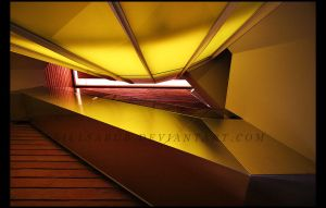 Yellow Escher by billsabub
