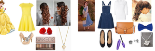 Disney Belle Inspired Outfit by RockerChic21