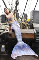 Mermaid on the Jolly Roger in Storybrooke by EarthFairy