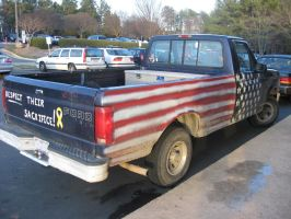 America's Truck by GilmourApatosaur