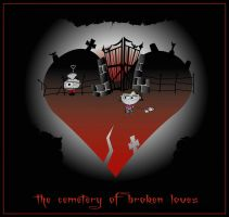 The Cemetery of Broken Loves by B3ANBAG