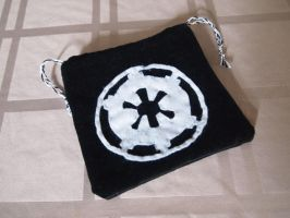 Star Wars Imperial Insignia Drawstring/Dice bag by WhimsicalSquidCo