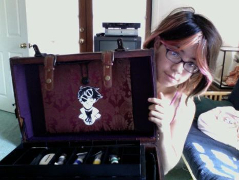 My Time Traveling Art Case : D by otherwise