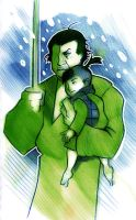 Lone Wolf and Cub by Phobos-Romulus