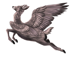 .:: Flying Doe ::. by PirateHearts
