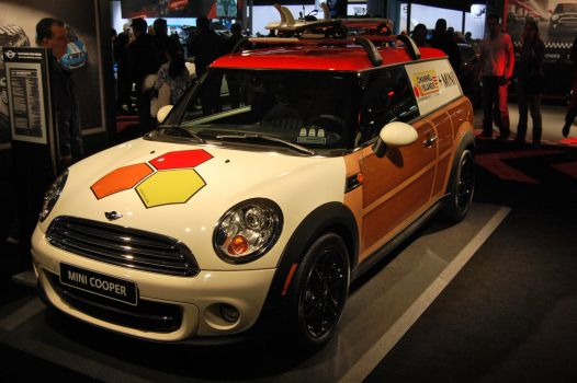 MINI Cooper Clubvan (I) by HardRocker78