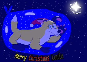 Gift: Merry Christmas Louie ^^ by valentinfrench