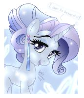 MLP FIM - Crystal Rarity by Joakaha