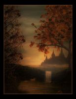 Castle in the Mists by Misty2007