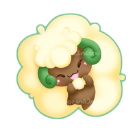 Whimsicott v2 by Clinkorz