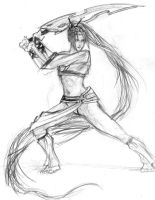 Nariko - Heavenly Sword by TheBoyofCheese