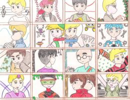 Cartoon Boys 7th Part by ieshika