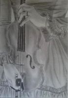 The Violin by SafaAnis