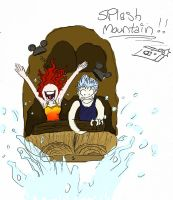 Fire and Ice Splash Mountain by Secoramoondragon